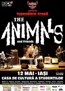 Concert THE ANIMALS la IASI!