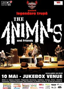 THE ANIMALS - Live in JUKEBOX VENUE din Bucuresti