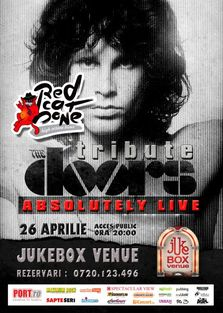 Tribute The Doors- RED CAT BONE in Jukebox Venue
