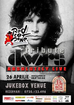 Tribute The Doors- RED CAT BONE in Jukebox Venue