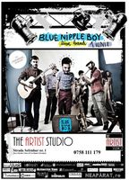 Concert Blue Nipple Boy in The Artist Studio