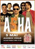 Concert ASHA in Jukebox Venue