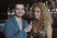 Andreea Banica & Laurentiu Duta - Shining heart (making of videoclip)