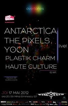 Concert Antarctica, Yoon & Plastik Charm in Wings Club!