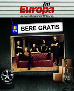 BERE GRATIS lanseaza noul album in Garajul Europa FM
