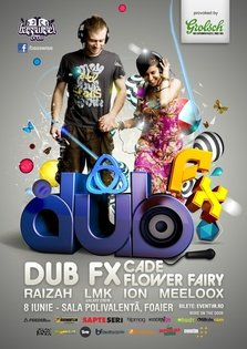 DUB FX live la Bucuresti - Sala Polivalenta