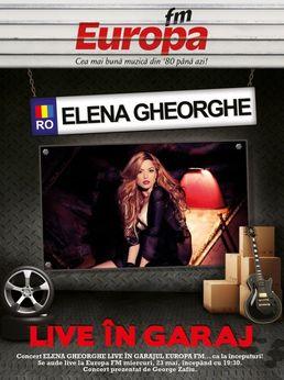 ELENA GHEORGHE concert in GARAJUL EUROPA FM!