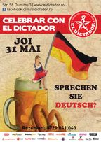 Celebrar con el Dictador: Sprechen Sie Deutsch?