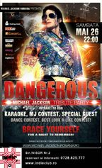 Dangerous Michael Jackson - Tribute Party in Indie Club!