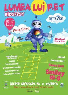 Concert Smiley si HI-Q la festivalul - Lumea lui P*ET - KidsFest