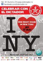 Celebrar con el Dictador: One night stand in New York