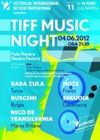 TIFF Music Night - concert Baba Zula si Noze la Cluj Napoca