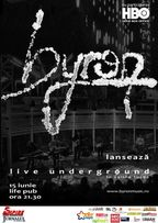 byron - concert la Timisoara in Life! Pub