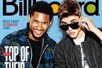 Justin Bieber si Usher pe coperta Billboard