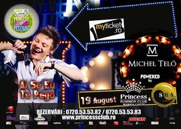 Concert Michel Telo in Princess Summer Club Mamaia!