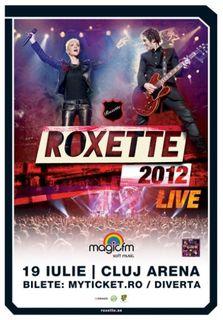 Concert Roxette la Cluj Napoca in iulie 2012!