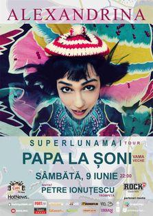 Concert Alexandrina in Papa la Soni!