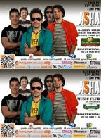 Concerte Asha in Garden Club si Music Club!