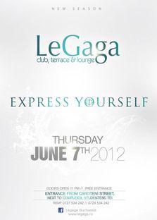 LE GAGA se deschide pe 7 IUNIE 2012!