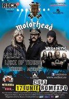 Concurs: Bilete la Ost Fest 2012-Ziua 3: Megadeth, Motorhead, Lake of Tears, W.A.S.P
