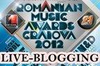 Diseara: live-blogging la Romanian Music Awards 2012!