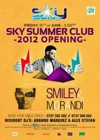 Smiley & Morandi - Sky Summer Club 2012 Opening!