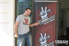 De vorba cu... Stefan Stan la preselectiile pentru Vocea Romaniei (interviu Urban.ro)