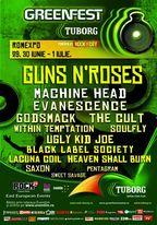 Tuborg Green Fest - Rock The City 2012: Machine Head