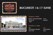 Ce trupe canta la Ursus Evolution 2012 Bucuresti