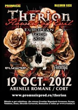Concert Therion - Flowers Of Evil Tour Europe - Arenele Romane