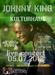 Johnny King & Live Band in Kulturhaus!