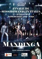 Concert Mandinga la Roma - Miss Romania in Italia