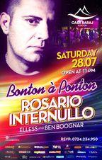Rosario Internullo Summer Crazy Party@ Ponton Casa Baraj!