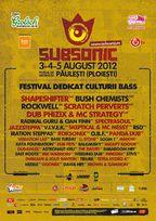 Subsonic Festival 2012 - inca 6 nume pe cele 2 scene