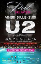 Concert Zen Garden - U2 Tribute la Heaven Pool & Lounge