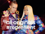 Nicki Minaj in adidas is all in