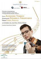 Concert extraordinar Alexandru Tomescu la Ateneul Roman