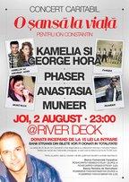 Kamelia si George Hora intr-un concert caritabil la Timisoara
