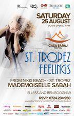 St. Tropez Feelings cu Mademoiselle Sabah @ Ponton Casa Baraj