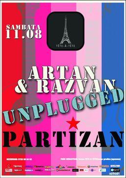 Partizan - Artan & Razvan - unplugged @Tete-A-Tete