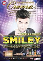 Concert Smiley in Crema Summer Club Mamaia