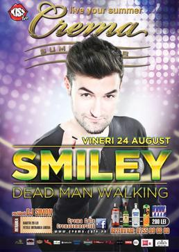 Concert Smiley in Crema Summer Club Mamaia