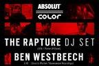 Concurs! 3 invitatii duble la Absolut Color: The Rapture la Sala Polivalenta