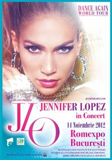 Jennifer Lopez in concert la Romexpo Bucuresti (AMANAT)