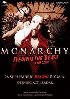 Monarchy - Feeding The Beast Tour 2012!