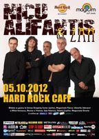 Concert Nicu Alifantis si Zan in Hard Rock Cafe