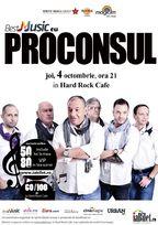 Concert Proconsul la Hard Rock Cafe din Bucuresti!