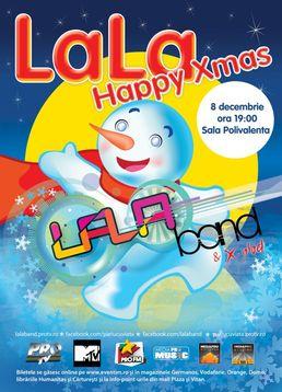Concert LaLa Band - Happy X-mas la Sala Polivalenta!