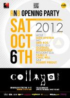 RnB OPENING Party @ COLLAGE lounge