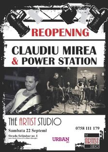Reopening Party - The Artist Studio din Bucuresti